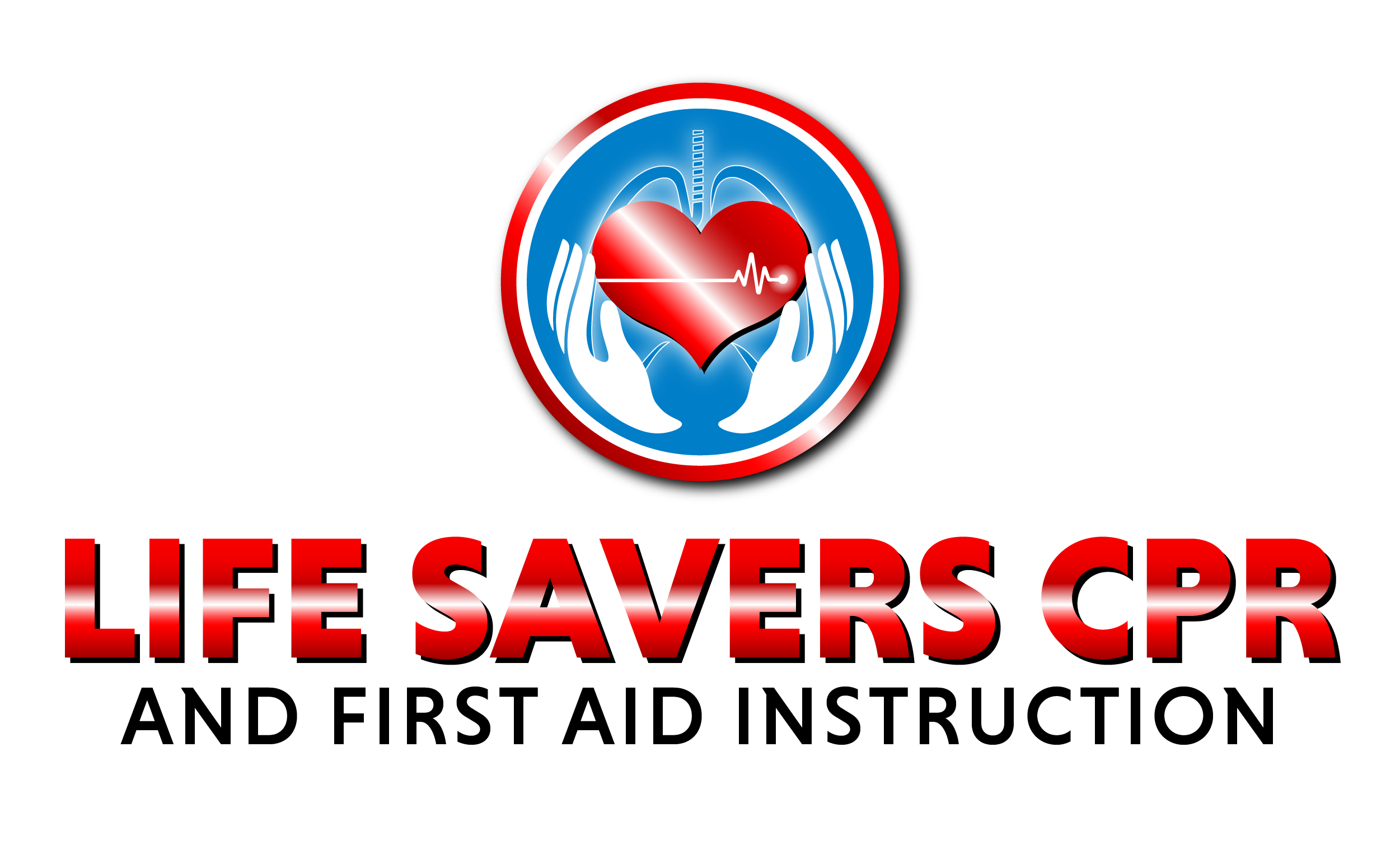Life Savers CPR & First Aid Instruction Logo