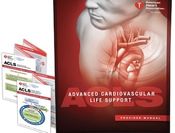 acls advanced cardiovascular life support ebook for sale