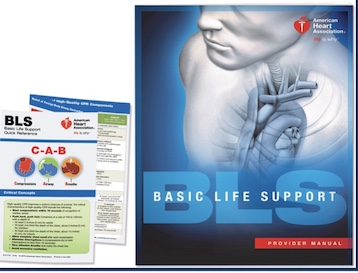 BLS basic life support ebook for sale